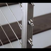 Stainless Steel Cable Rail Stairs