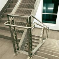 Commercial Cable Handrail